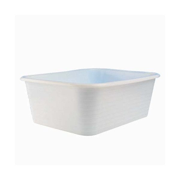 bassine rectangle gilac blanche professionnelle. Black Bedroom Furniture Sets. Home Design Ideas