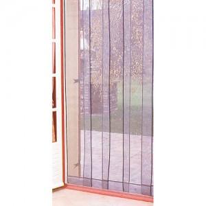 rideau de porti re moustiquaire arles 4 bandes 100 220 cm. Black Bedroom Furniture Sets. Home Design Ideas