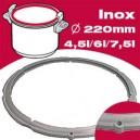 joint d 'autocuiseur SEB delicio 4.5/6/7.5 l diamètre 220mm