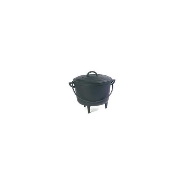 marmite en fonte de 8 litres pied. Black Bedroom Furniture Sets. Home Design Ideas