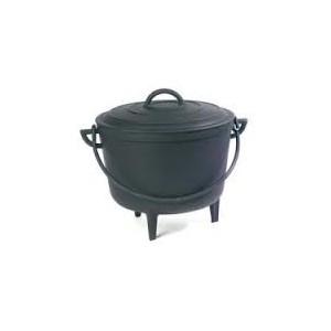 marmite en fonte de 12 litres pied. Black Bedroom Furniture Sets. Home Design Ideas