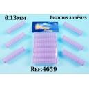 bigoudis adhésifs 12 mm par 6 ref 4659