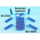 bigoudis adhésifs 15 mm par 6 ref 4660