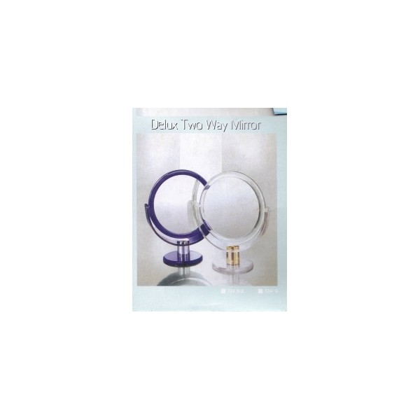 Miroir rond sur pied grossissant 12 cm for Miroir rond grossissant