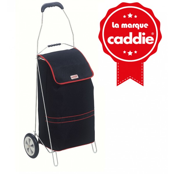 chariot de march caddie 40 litres noir. Black Bedroom Furniture Sets. Home Design Ideas