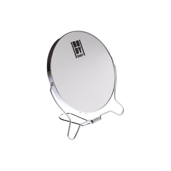 Miroir rond 14 cm double face for Miroir double face