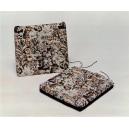 coussin de chaise épais carré tapisserie 40*40*5 cm