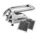 coupe frite inox avec 2 grilles